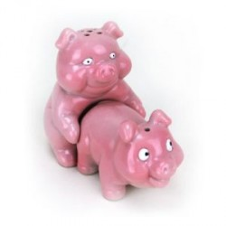 Naughty Pigs Salt and Pepper Shaker Set